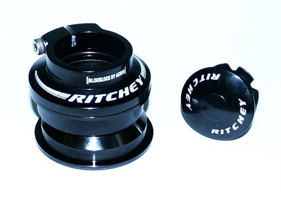 Ritchey-Steuersatz-Pro-Press-Fit-Blockloc-1-1-8-034-Semi-Integriert-Headset-44mm